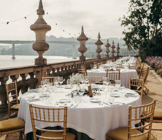 Jantar - Jardim Italiano / Dinner: Italian Garden Foto: Rui Teixeira Wedding Photography