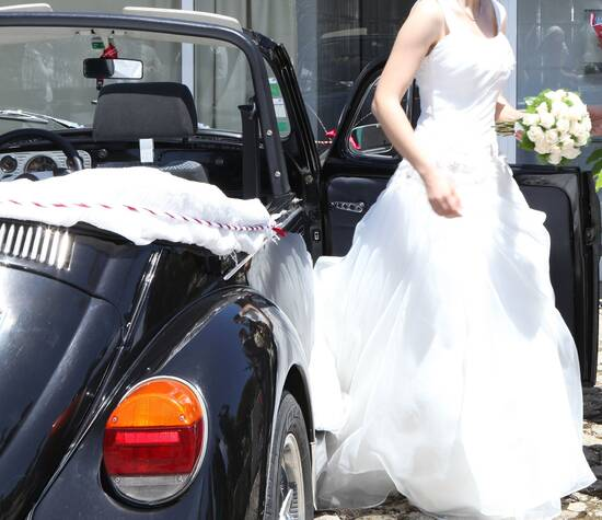Casamento  num Carocha
