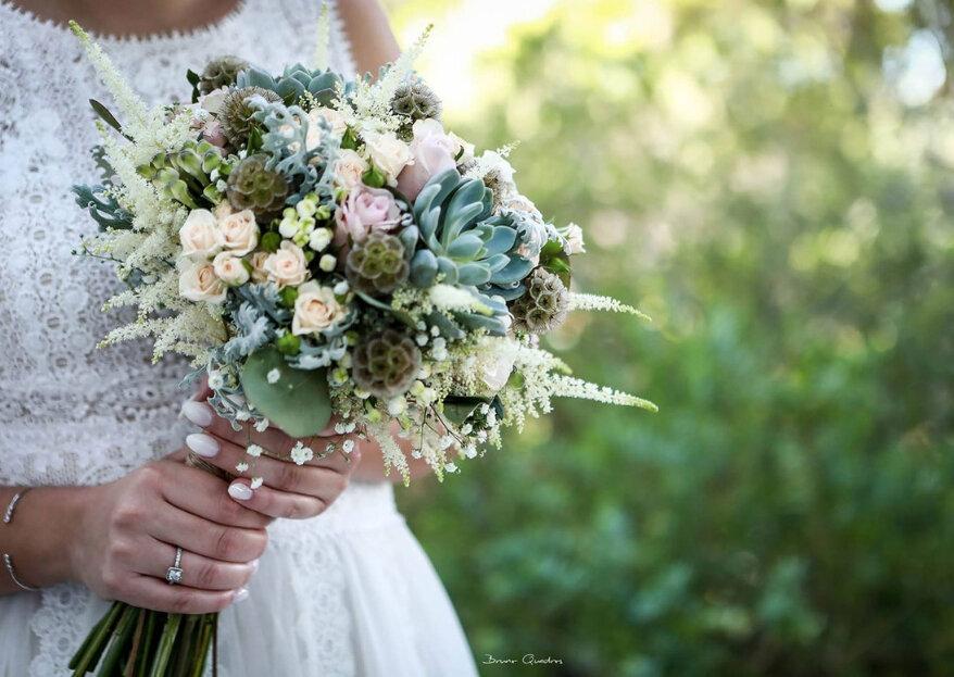 Eis os quatro elementos que darão cor ao seu casamento