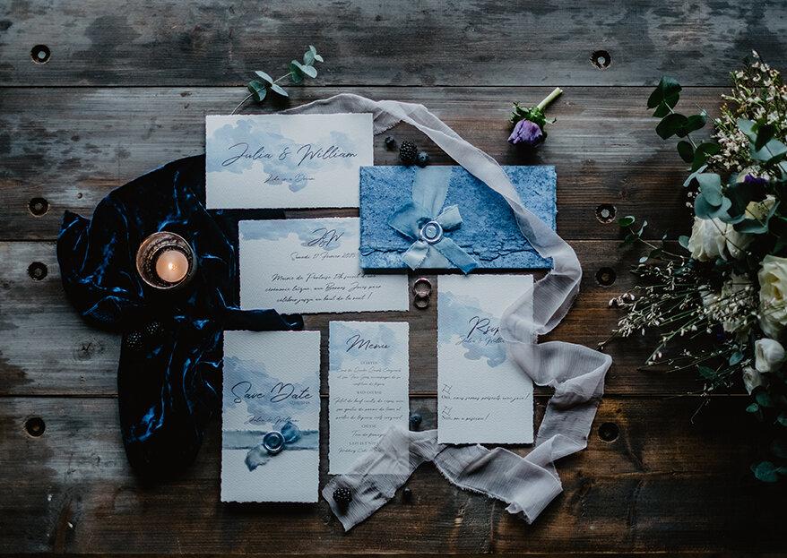 Convites de casamento de luxo: convide com elegância e sofisticação!