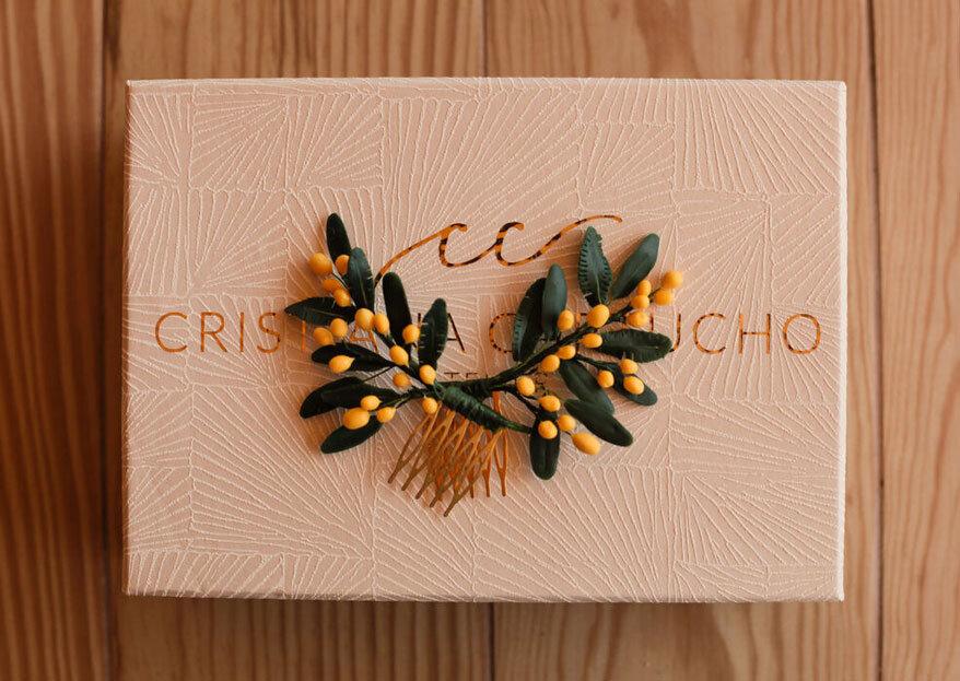 Atelier Cristiana Cartucho: acessórios artesanais e personalizados para brilhar no seu casamento