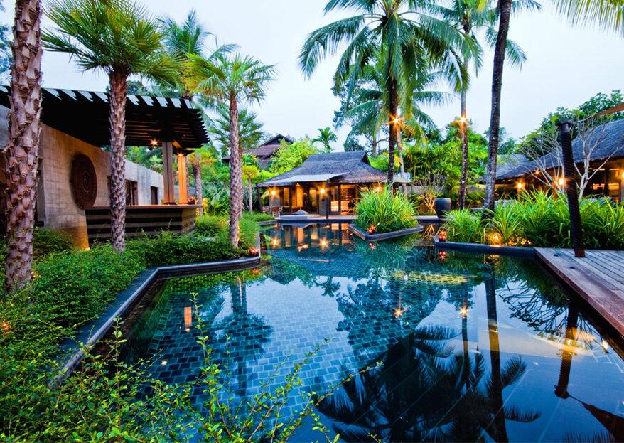 Lua-de-mel na Tailândia: os melhores hotéis para a vossa viagem de sonho!