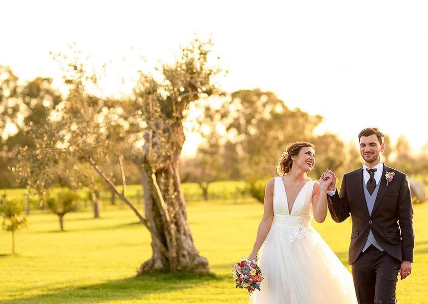 É o amor que dá cor à vida: o casamento de Vito & Maria