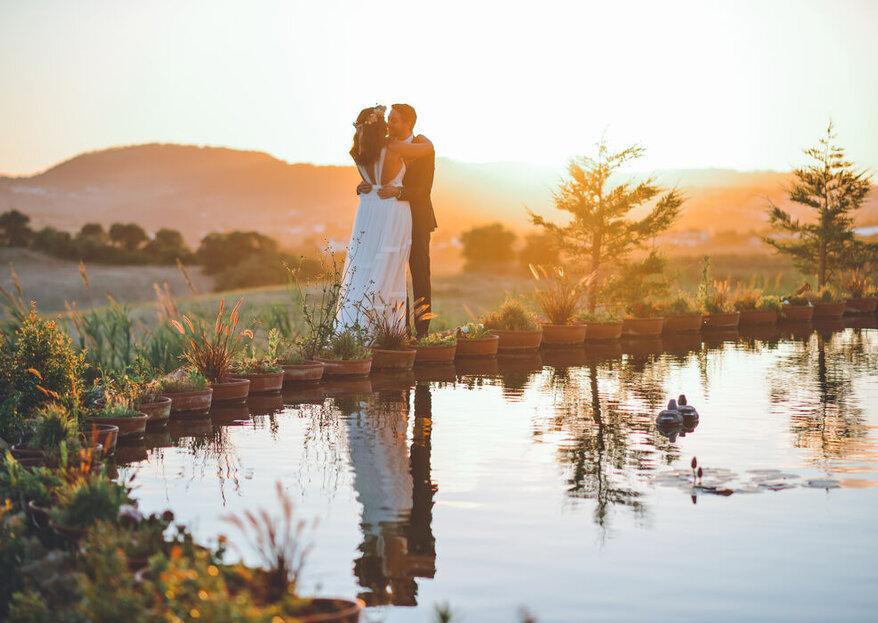 Espaços singulares para um casamento também único!