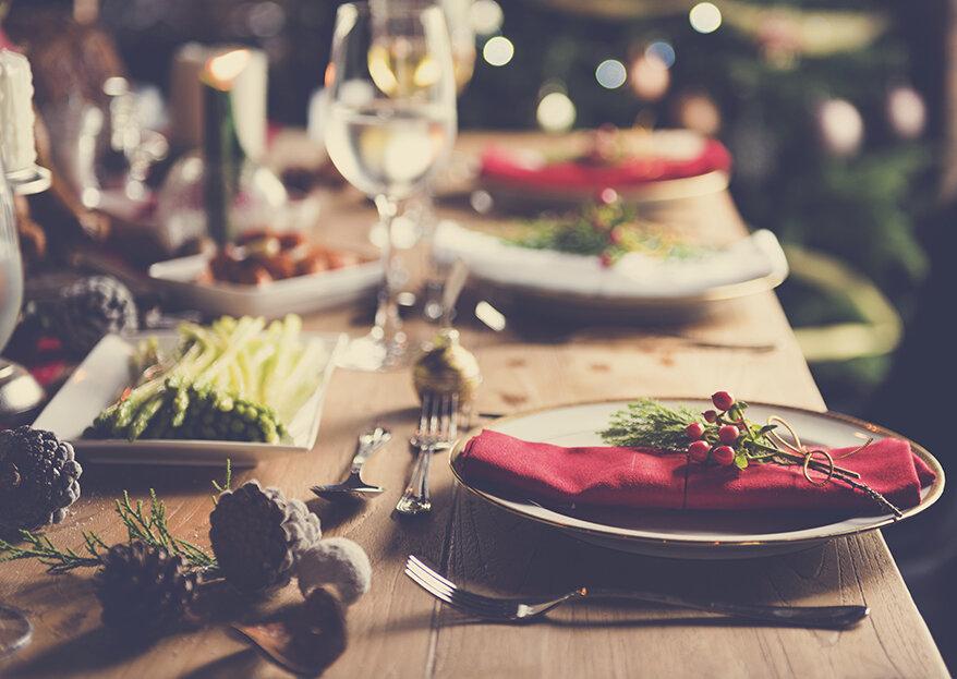 Tradição à mesa: os sabores perfeitos para um casamento no Natal