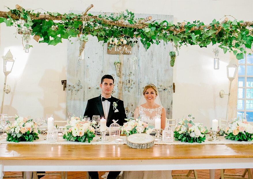Quem pode estar na mesa dos noivos?
