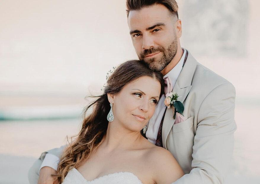 Sérgio Rosado casou-se com Andreia Nascimento e preparou uma surpresa emocionante