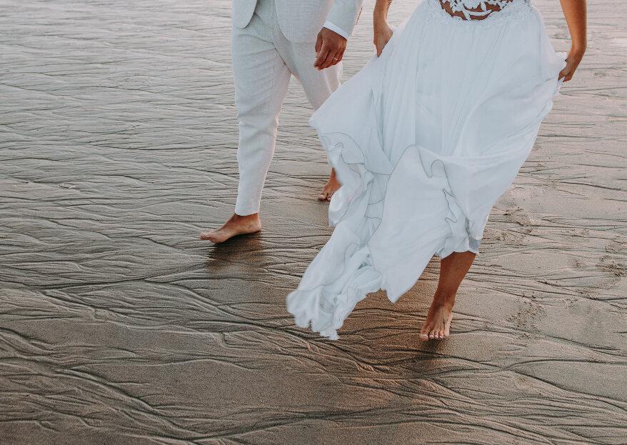 Casar na praia: tudo o que não sabia que precisava de saber