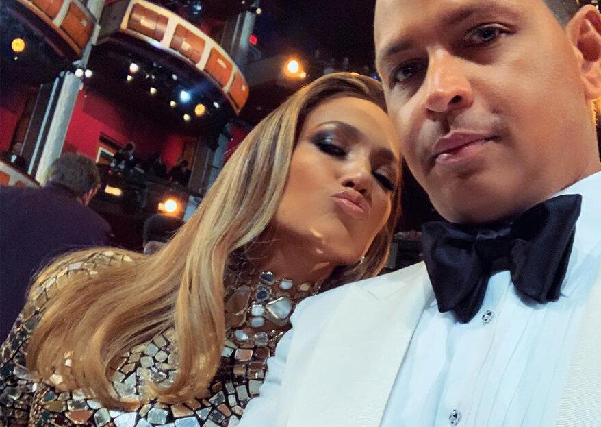 Jennifer Lopez e Alex Rodriguez estão noivos!