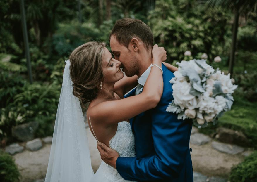 O dia do seu casamento: deixe-se apaixonar perdidamente por esta data!
