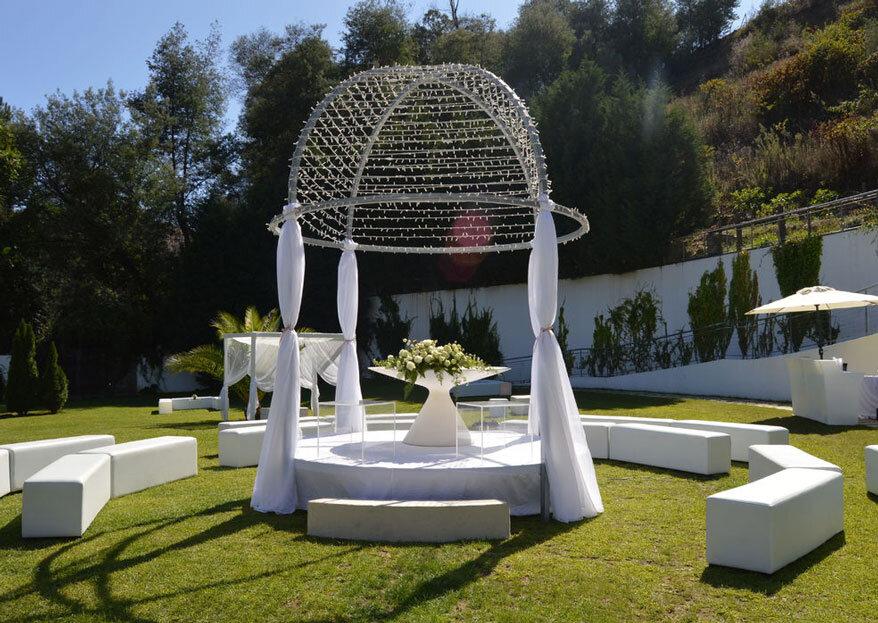 Valle Canas: o centro de eventos que se prepara há 12 anos para receber o seu casamento