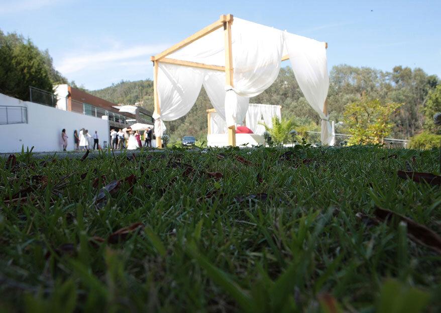 5 Razões para escolher o Valle de Canas para o seu casamento