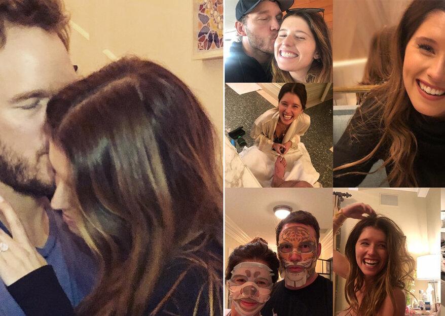 Chris Pratt e Katherine Schwarzenegger anunciam noivado!