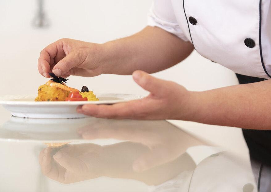 3 segredos para conseguir que o banquete seja um espetáculo para a vista