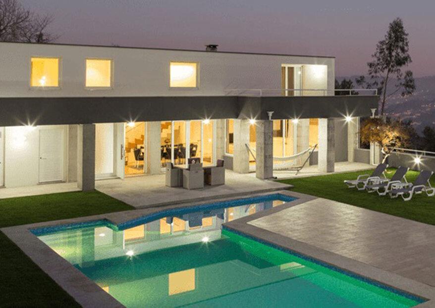 SUNSET HOUSE: case com o requinte e o conforto de um espaço prestigiado