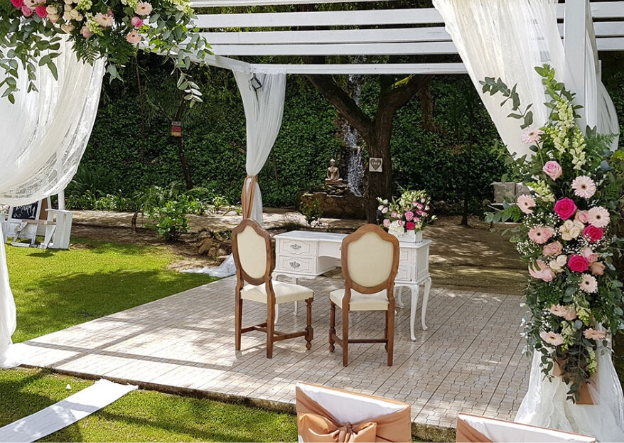 As vantagens de celebrar o casamento num espaço com alojamento