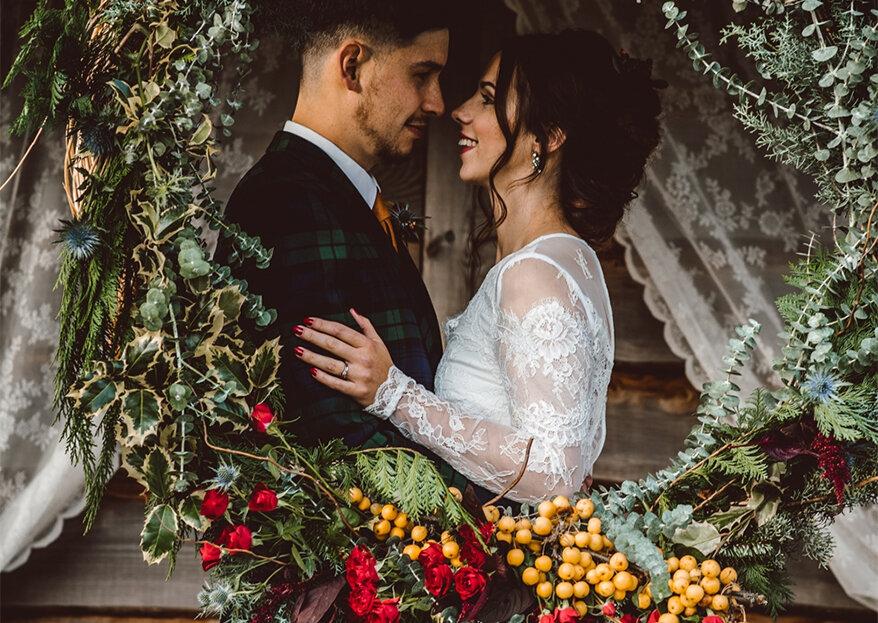 6 boas razões para casar no Natal, num clima intimista, familiar e com muito amor!