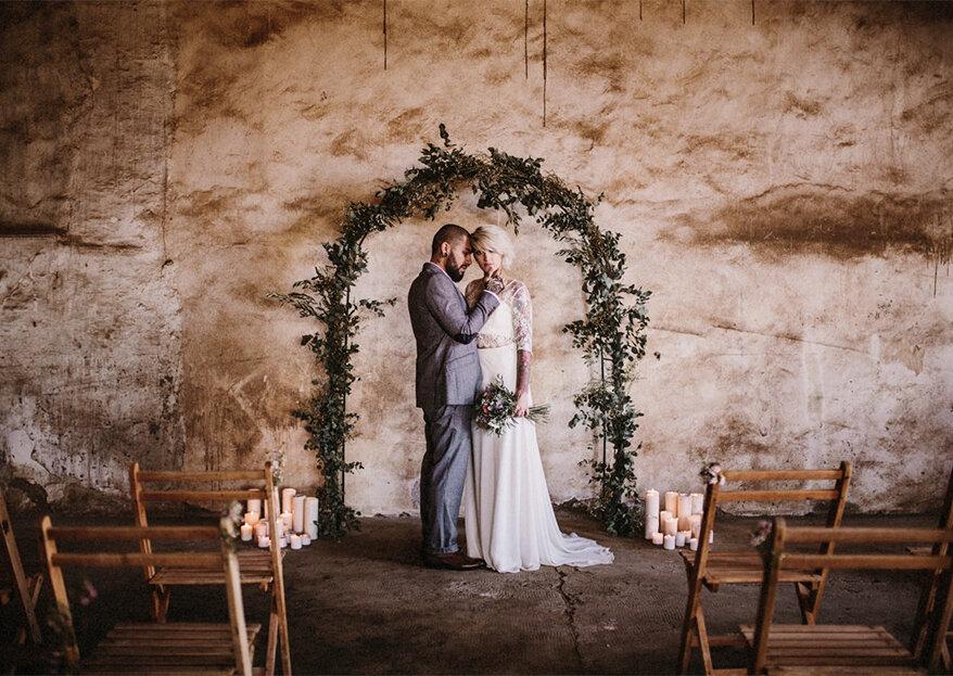 Como decorar a cerimónia do meu casamento em 5 passos