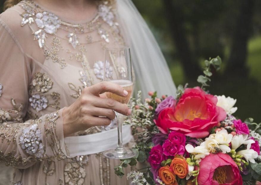 Decoração de casamento rosa PINK: ousadia pura!