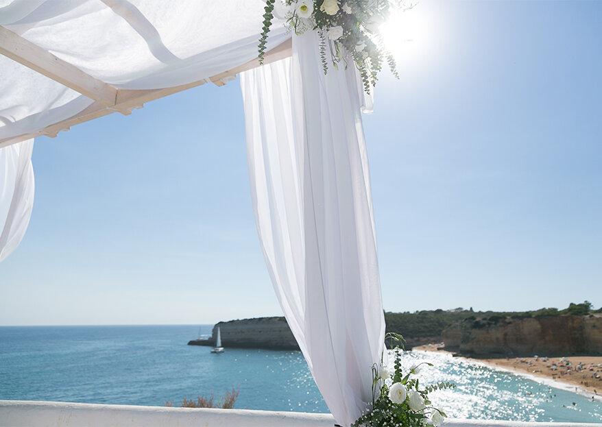 Casamento de sonho no Algarve: tudo o que precisa de saber!