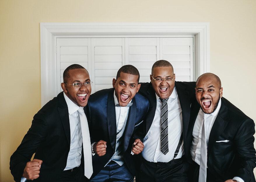 Tipos de gravata para o noivo: saiba qual escolher!