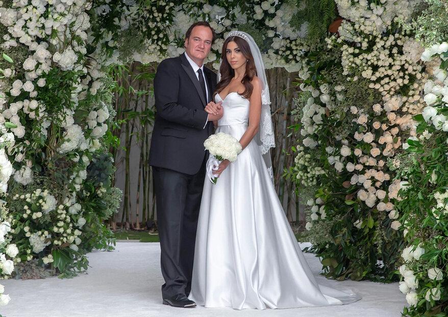 Quentin Tarantino já casou com a estrela pop e modelo israelita Daniella Pick