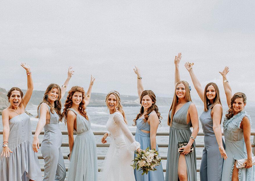 Vestidos Damas de Honor - sugestões de como combiná-los!