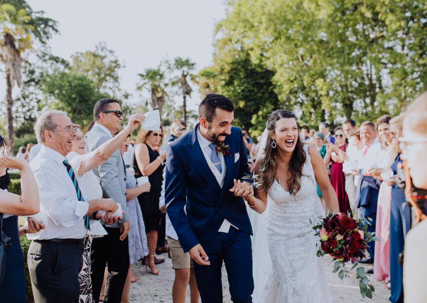 Os 16 erros mais frequentes aquando da organização de um casamento