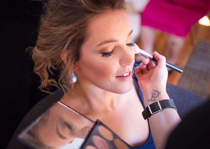 Dicas para escolher a maquilhagem ideal para o dia do seu casamento!