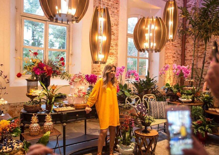 Curso decoração floral Taís Puntel: oportunidade incrível de aprender de uma das melhores decoradoras do Brasil