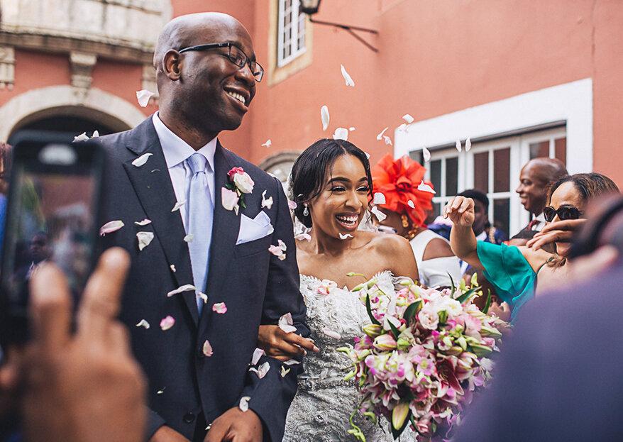 Nanya & Chijioke: da Nigéria para Sintra, com (muito!) amor...