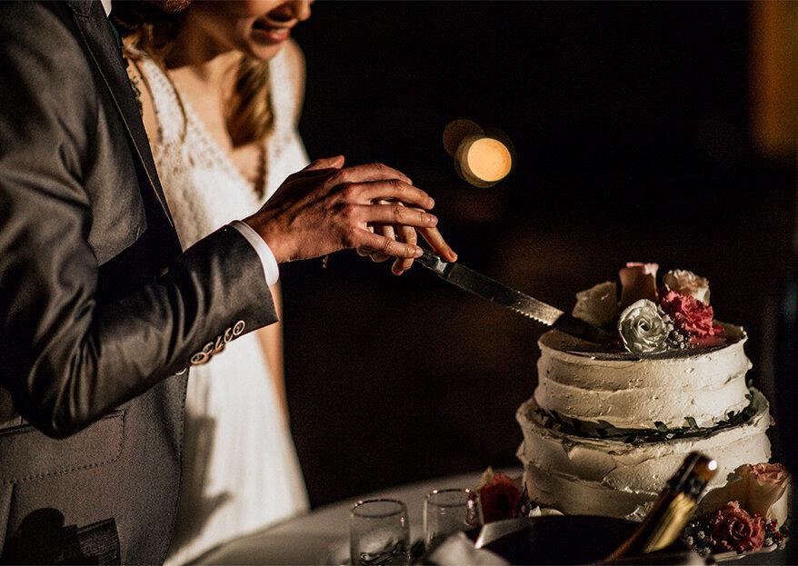 Quando se deve fazer o corte do bolo de casamento?