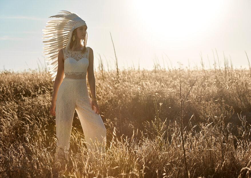 O poder dos detalhes: 5 apontamentos tendência que tornam um vestido de noiva único.