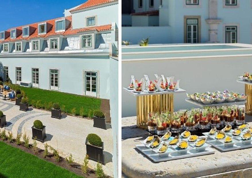 The One Palácio da Anunciada: um luxo por descobrir e um requintado casamento por viver!