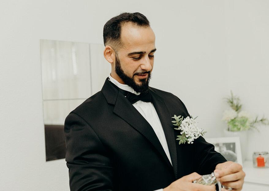 Aviso aos noivos: diga-me que tipo de rosto tem e eu dir-lhe-ei qual é a barba que lhe fica melhor