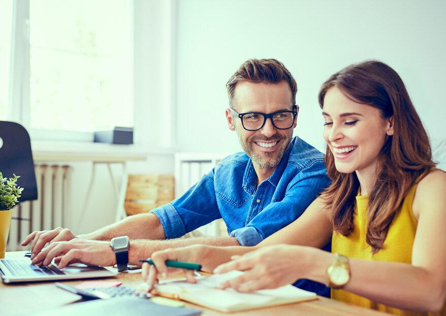 Como organizar o seu casamento 100% na Internet? Descubra o nosso guia!
