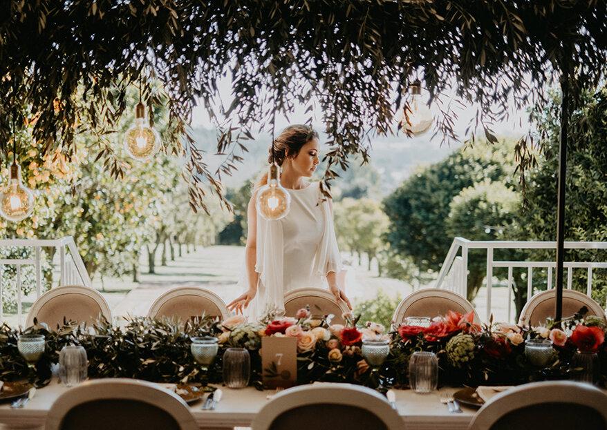 Como decorar o seu casamento: 5 passos vitais para ter o que sempre sonhou