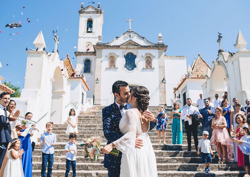 6 musts para o dia do seu casamento: tome nota e comece a compor a sua boda