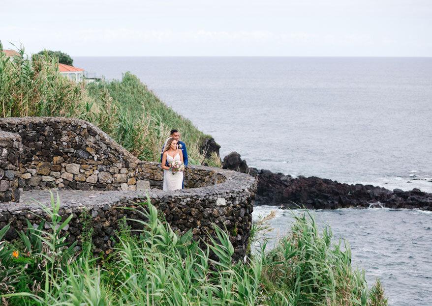 Destination weddings plenos de amor, energia positiva e os serviços de topo da Ambiance Wedding Azores