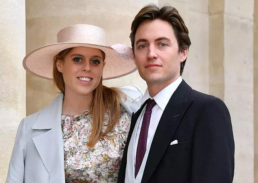 Beatrice e Edoardo Mapelli Mozzi celebram noivado
