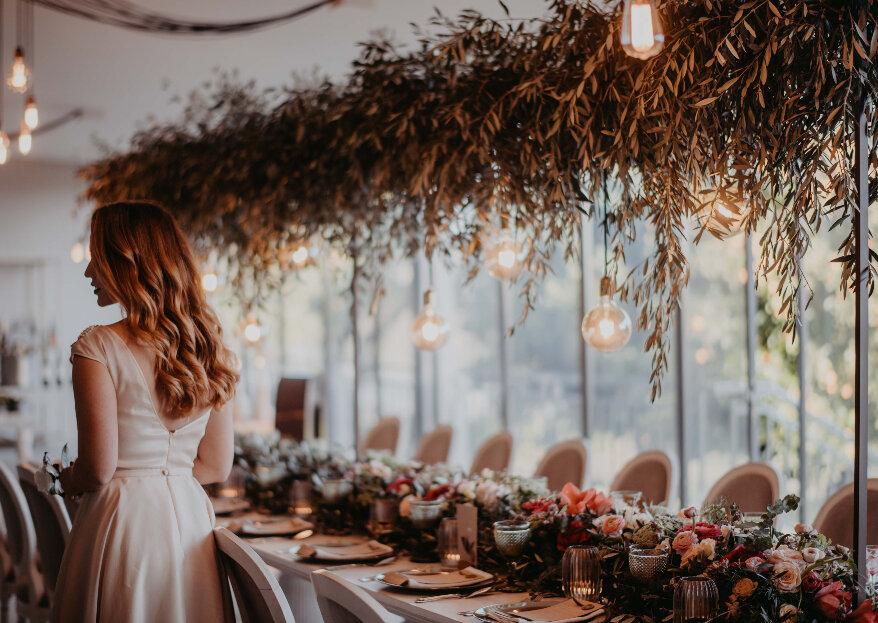 4 ideias gastronómicas inovadoras para o banquete do seu casamento