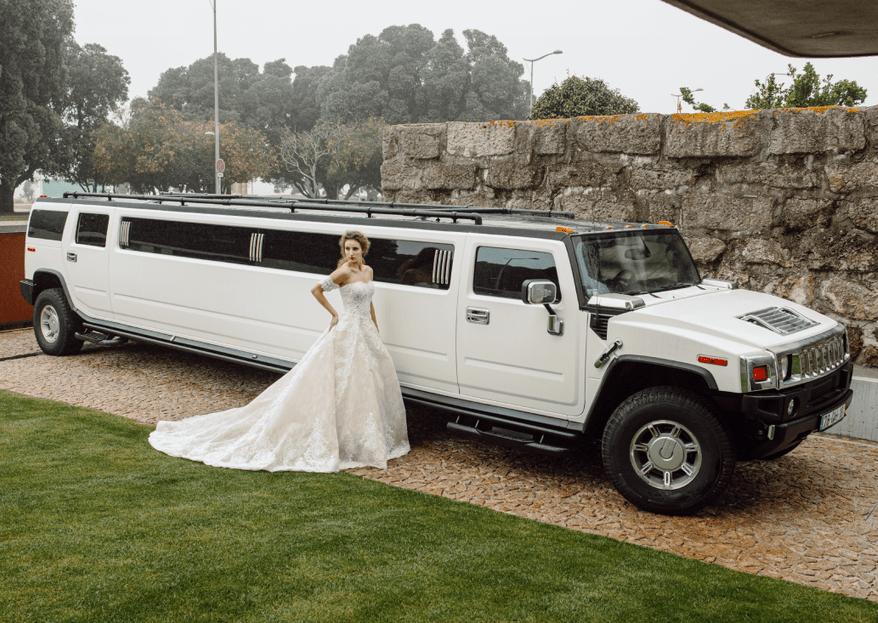"""Upper Class - Limousines: uma """"entrada"""" em grande no seu casamento"""