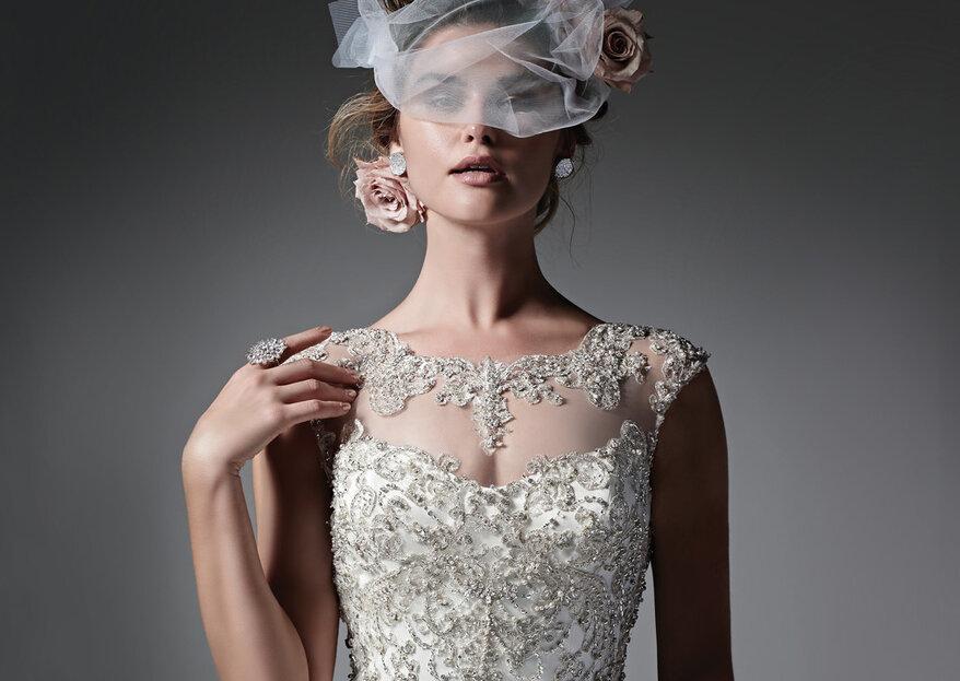 A silhueta nos vestidos de noiva que será tendência para 2018