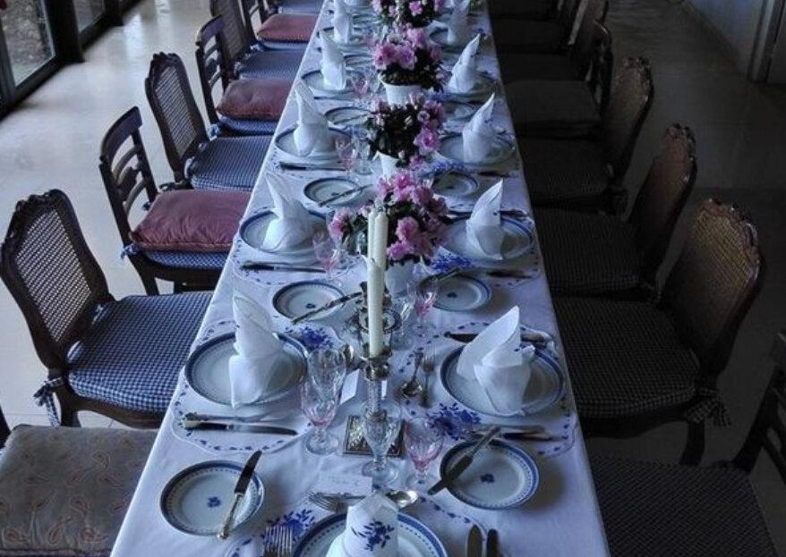 """Mordomias & Companhia: """"um cem mil"""" de serviços ao serviço do sonho dos noivos... E conforto dos convidados"""
