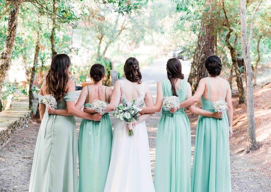 Como pedir às suas melhores amigas para serem suas damas de honor? 5 ideias que a deixarão rendida!