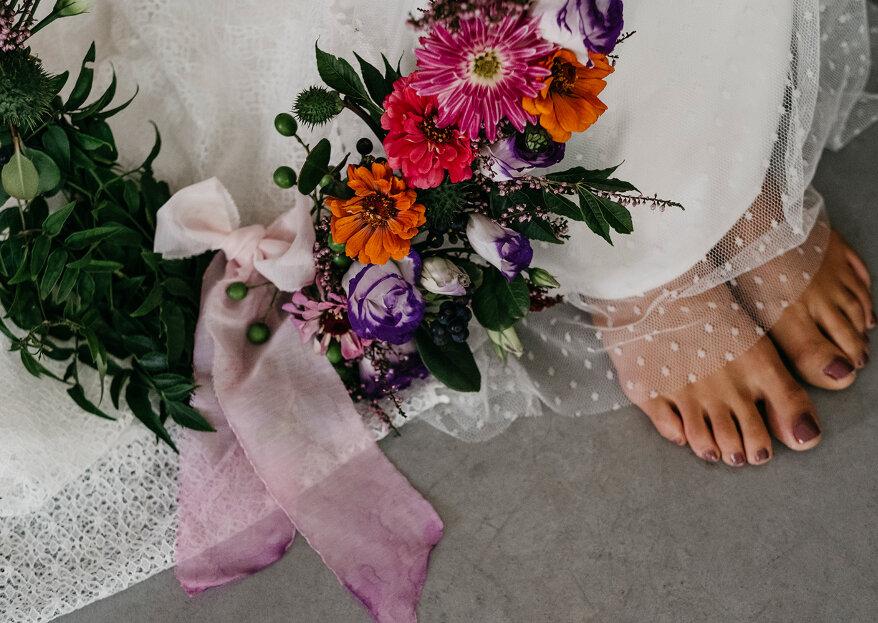 Bouquets com aro: os mais originais para impressionar no casamento