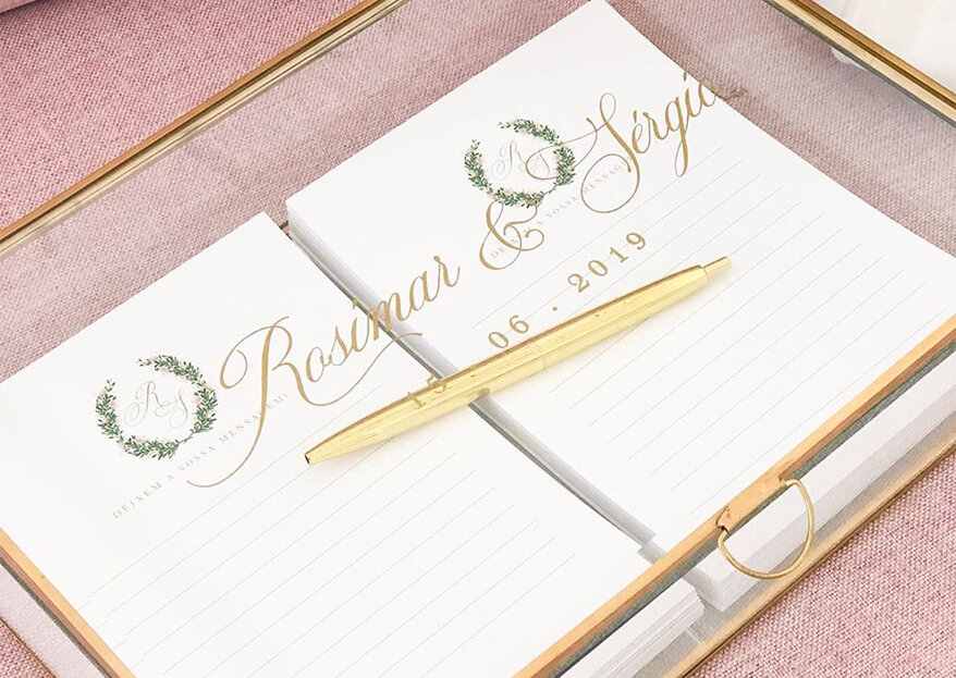 Livro de honra para o casamento: as ideias mais originais!