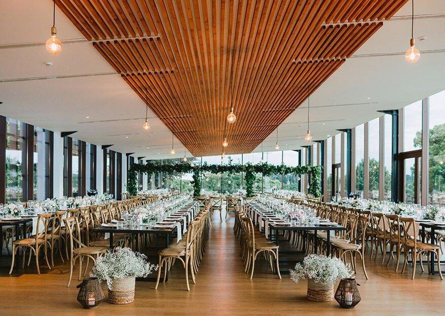 Casamento deslumbrante: espaços perfeitos para diferentes estilos de noivos