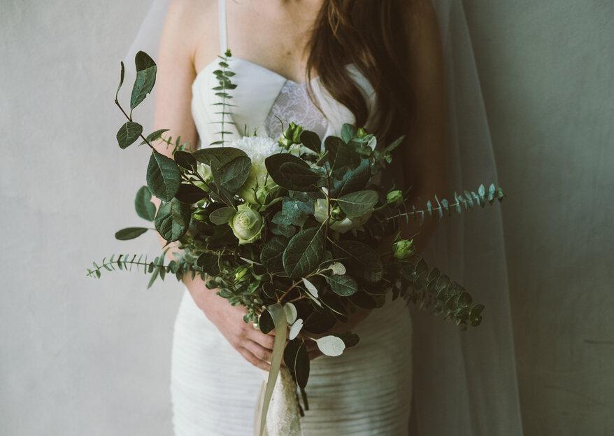 Os 5 bouquets de noiva que vão fazer furor em 2018
