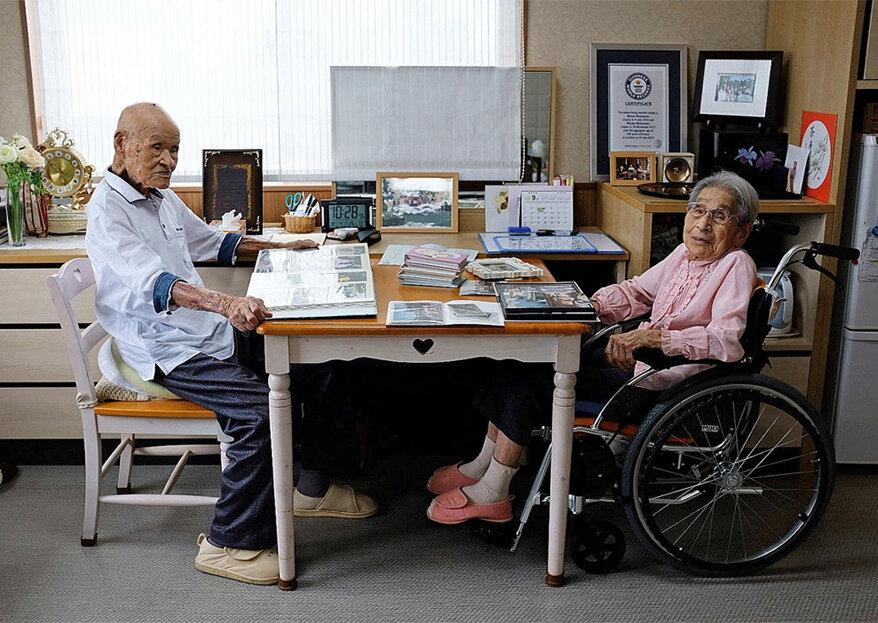 O segredo de 80 anos de casamento: casal celebra uma vida de paciência e amor!